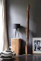 Natural wood is a feature of the interior design, whether for sculptural or practical usage