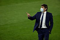 Antonio Conte coach of Inter  during the  italian serie a soccer match,Spezia Inter Milan at  the STadio Picco in La Spezia Italy ,