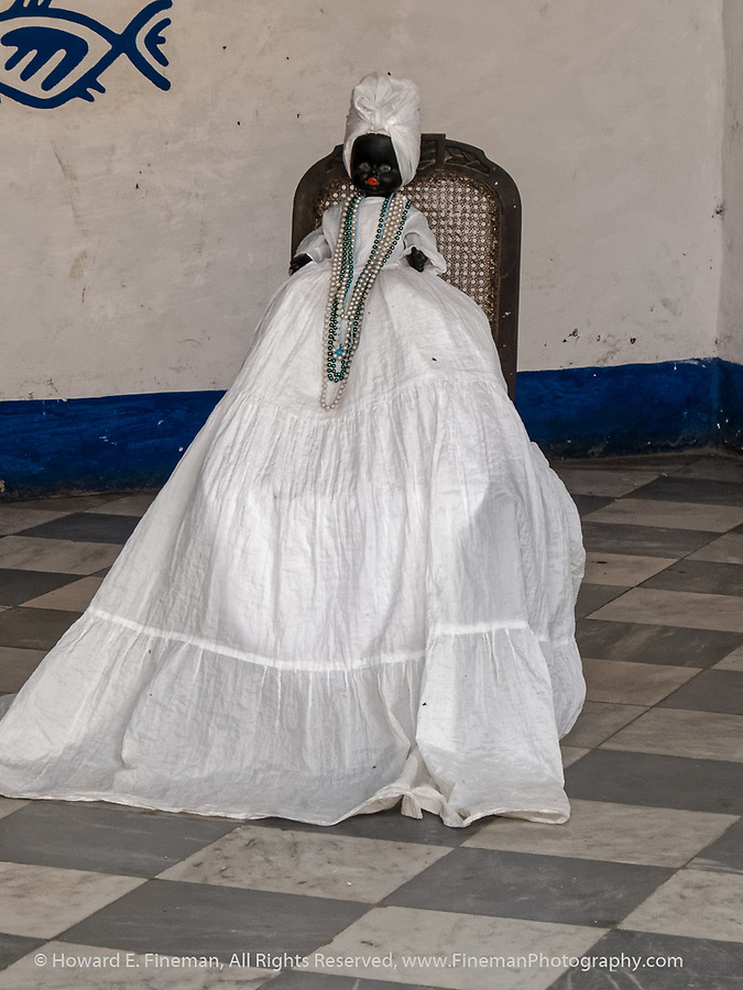 Period costume on doll