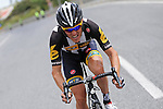 Serge Pauwels (BEL) MTN-Qhubeka during the closing kilometres of Stage 7 of the 2015 Presidential Tour of Turkey running 166km from Selcuk to Izmir. 2nd May 2015.<br /> Photo: Tour of Turkey/Mario Stiehl/www.newsfile.ie