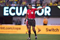 Action photo during the match Ecuador vs Haiti at MetLife Stadium Copa America Centenario 2016. ---Foto  de accion durante el partido Ecuador vs Haiti, En el Estadio MetLife Partido Correspondiante al Grupo - B -  de la Copa America Centenario USA 2016, en la foto: Gery Vargas<br /> <br /> -- 12/06/2016/MEXSPORT/Javier Ramirez.
