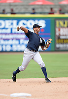 New York Yankees third baseman Dermis Garcia (68) during an Instructional League game against the Philadelphia Phillies on September 23, 2014 at the Bright House Field in Clearwater, Florida.  (Mike Janes/Four Seam Images)