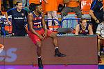FC Barcelona Lassa's Joey Dorsey during the match of Endesa ACB League between Fuenlabrada Montakit and FC Barcelona Lassa at Fernando Martin Stadium in fuelnabrada,  Madrid, Spain. October 30, 2016. (ALTERPHOTOS/Rodrigo Jimenez)