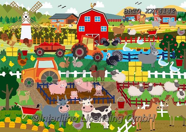 Alfredo, CUTE ANIMALS, LUSTIGE TIERE, ANIMALITOS DIVERTIDOS, paintings+++++,BRTOXX14142,#ac#, EVERYDAY ,puzzle,puzzles,farm,farm animals