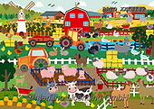 Alfredo, CUTE ANIMALS, LUSTIGE TIERE, ANIMALITOS DIVERTIDOS, paintings+++++,BRTOXX14142,#ac#, EVERYDAY ,puzzle,puzzles,farm,farm animals
