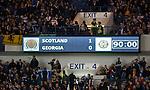 Scotland defeat Georgia