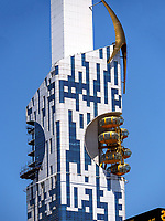 Apartment-Haus in ehemaliger Universität, Batumi, Adscharien - Atschara, Georgien, Europa<br /> Apartment house in former university, Batumi, Adjara,  Georgia, Europe