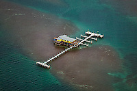 aerial photograph Stiltsville Miami, Florida