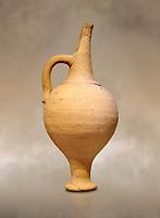 Minoan terracotta beak spouted libation jugs , Poros-Heraklion 1600-1450 BC; Heraklion Archaeological  Museum.
