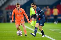 Alessandro Florenzi (PSG) <br /> Paris  09/12/2020 <br /> Paris Saint Germain PSG - Istanbul Basaksehir<br /> Champions League 2020/2021<br /> Photo JB Autissier / Panoramic / Insidefoto <br /> Italy Only