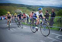 Simon Yates (GBR/Orica-GreenEDGE) up La Redoute (1650m/9.7%)<br /> <br /> 101th Liège-Bastogne-Liège 2015