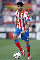 Atletico de Madrid's Diego Costa during La Liga match.April 14,2013. (ALTERPHOTOS/Acero)