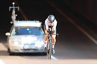 9th September 2021; Trento, Trentino–Alto Adige, Italy: 2021 UEC Road European Cycling Championships, Womens Individual time trials:  ROZLAPA Dana (LAT)