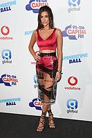 Dakota<br /> in the press room for the Capital Summertime Ball 2018 at Wembley Arena, London<br /> <br /> ©Ash Knotek  D3407  09/06/2018