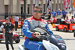 Justin Wilson (19) driver for Dale Coyne Racing in action during qualifying for the IZOD Indycar Firestone 550 race at Texas Motor Speedway in Fort Worth,Texas.