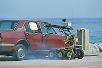 - artificer robot of Carabinieri....- robot artificiere dei Carabinieri