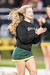 Baylor Bears cheerleaders in action during the game between the Oklahoma Sooners and the Baylor Bears at the Floyd Casey Stadium in Waco, Texas. Baylor defeats OU 41 to 12.