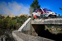 10th October 2020, Alghero, Sardinia, Italy; WRC Rally of Sardinia;   Ogier