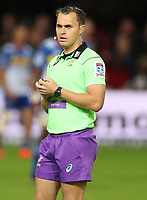 DURBAN, SOUTH AFRICA - MAY 27: Referee: Marius van der Westhuizen (South Africa) during the Super Rugby match between Cell C Sharks and DHL Stormers at Growthpoint Kings Park on May 27, 2017 in Durban, South Africa. Photo by Steve Haag / stevehaagsports.com