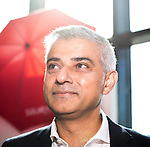 © Joel Goodman - 07973 332324 . 27/09/2016 . Liverpool , UK . London mayor SADIQ KHAN at the ACC conference centre on the third day of the Labour Party Conference at the ACC in Liverpool . Photo credit : Joel Goodman