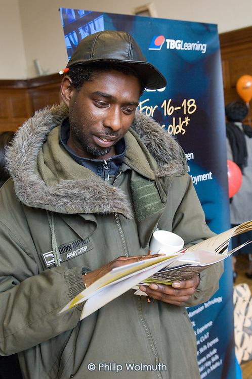 Jobs Fair, Brixton Town Hall, March 2008
