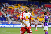 Harrison, NJ - Wednesday Aug. 03, 2016: Gonzalo Veron during a CONCACAF Champions League match between the New York Red Bulls and Antigua at Red Bull Arena.