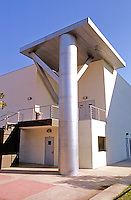 Frank Gehry: ICE/ERF, Irvine. Classroom Building from N. W.  Photo '86.
