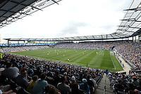 Sporting Park ..Sporting Kansas City and Houston Dynamo played to a 1-1 tie at Sporting Park, Kansas City, Kansas.