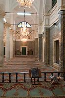 Tripoli, Libya - Ahmed Karamanli Mosque in the Medina (Old City).  Opened 1730s.