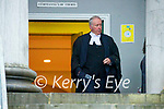 Brian McInerney Barrister at Tralee court on Tuesday.