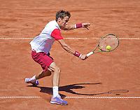 Netherlands, The Hague, Juli 21, 2015, Tennis,  Sport1 Open, Andrey Kuznetsov (RUS)<br /> Photo: Tennisimages/Henk Koster
