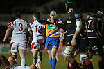 Referee Peter Fitzgibbon.Celtic League.Newport Gwent Dragons v Ulster.Rodney Parade.26.10.12.©Steve Pope