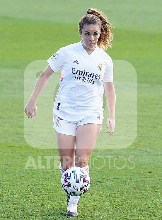 First official match and first classic in the history of women's Real Madrid.<br /> Real Madrid's Teresa Abelleira during Spanish Female League match. October 4,2020. (ALTERPHOTOS/Acero)