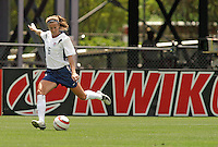 Brandi Chastain.US Women's National Team vs Brazil at Legion Field in Birmingham, Alabama.