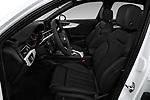 Front seat view of a 2018 Audi A4 Premium 4 Door Sedan front seat car photos