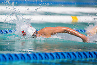 Santa Clara, California - Friday June 3, 2016: Lyon Zhang competes in the Men's 400 Long Course Meter IM event at the Arena Pro Swim Series.
