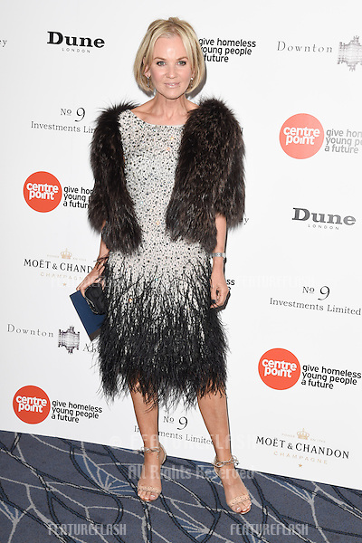 Lisa Maxwell arrives for The Downton Abbey Ball 2015 in aid of Centrepoint charity at the Savoy Hotel, London. 30/04/2015 Picture by: Steve Vas / Featureflash