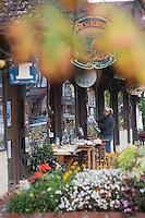 Europe/France/Normandie/Basse-Normandie/14/Calvados/ Pays d'Auge/Beuvron-en-Auge: boutique d'une antiquaire