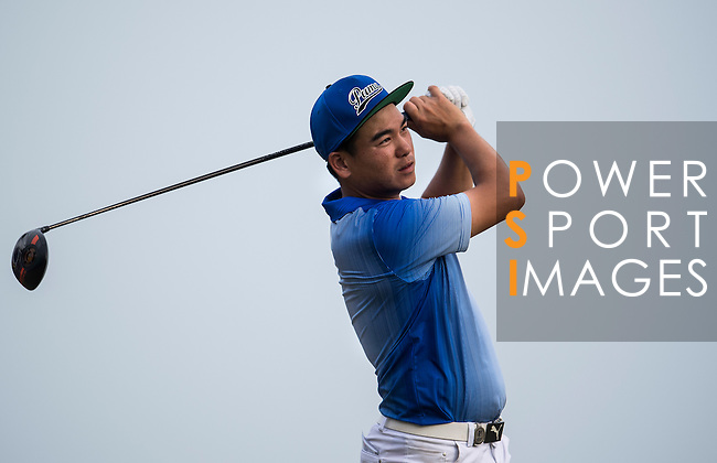 Sutijet Kooratanapisan of Thailand in action during the Venetian Macao Open 2016 at the Macau Golf and Country Club on 16 October 2016 in Macau, China. Photo by Marcio Machado / Power Sport Images