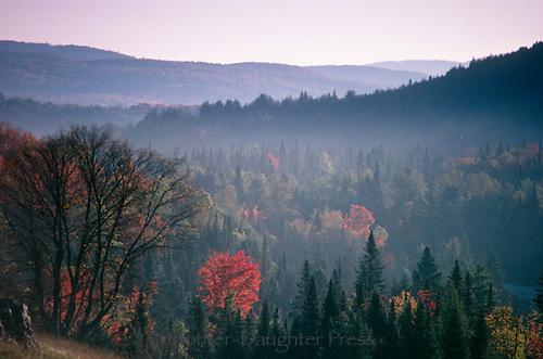 Groton state forest Northeast Kingdom Vermont