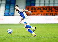 21st November 2020; Kenilworth Road, Luton, Bedfordshire, England; English Football League Championship Football, Luton Town versus Blackburn Rovers; Ben Brereton of Blackburn Rovers watches his pass go down the line