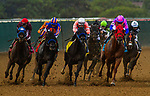 JULY 31, 2021: Dr. Schivel with Flavien Prat wins the Bing Crosby at Del Mar Fairgrounds in Del Mar, California on July 31, 2021. Evers/Eclipse Sportswire/CSM