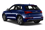 Car pictures of rear three quarter view of 2021 Audi Q5 Edition-One 5 Door SUV Angular Rear