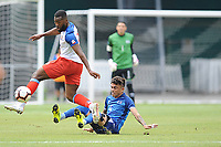 Washington, D.C. - June 2, 2019: El Salvador National Team defeated the Haitian National Team 1-0 in an international friendly at RFK Stadium.