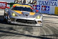 #93 Viper GTS-R of Jonathan Bomarito, Kuno Wittmer and Marc Goossens, Long Beach Grand Prix, Long Beach, CA, April 2014.  (Photo by Brian Cleary/ www.bcpix.com )