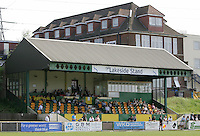 The main stand at Thurrock Football Club - Thurrock vs Sutton United - Nationwide Conference South at Ship Lane - 28/04/07- MANDATORY CREDIT: Gavin Ellis/TGSPHOTO - IMAGES USED WILL BE INVOICED AT STANDARD RATES..