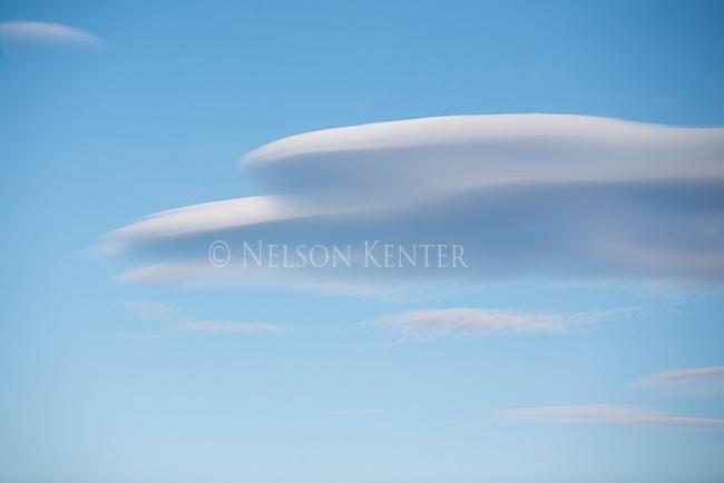 Lenticular cloud in western Montana