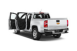 Car images of a 2017 Chevrolet Colorado Z71 Crew Cab 4 Door Pick Up Doors