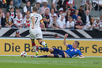 Cologne, Germany - Wednesday, June 10, 2015: The US Men's National team defeat Germany 2-1 in an international friendly match at Rhein Energie Stadion.