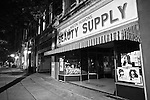 Beauty Supply in downtown Macon, Ga. Aug. 29, 2010.